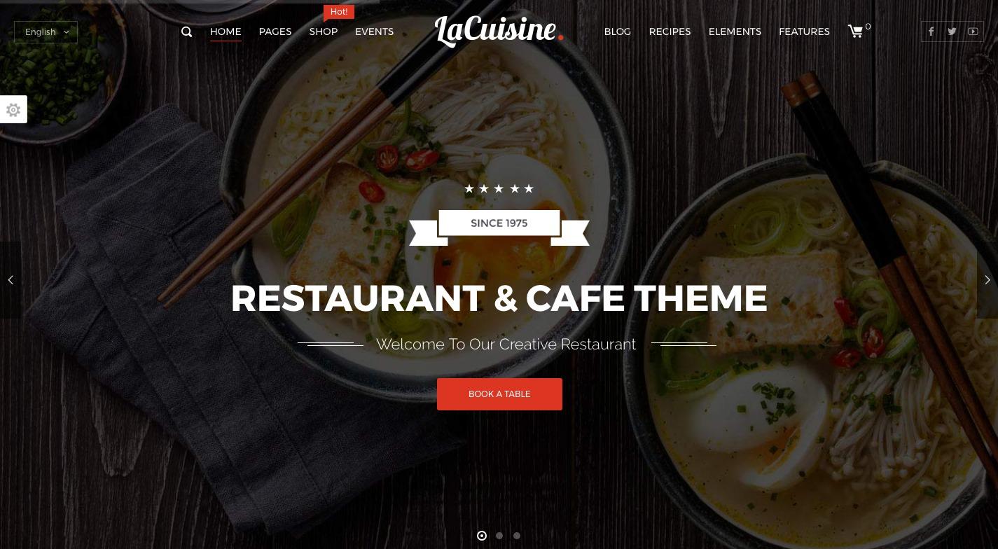 LaCuisine WordPress Theme