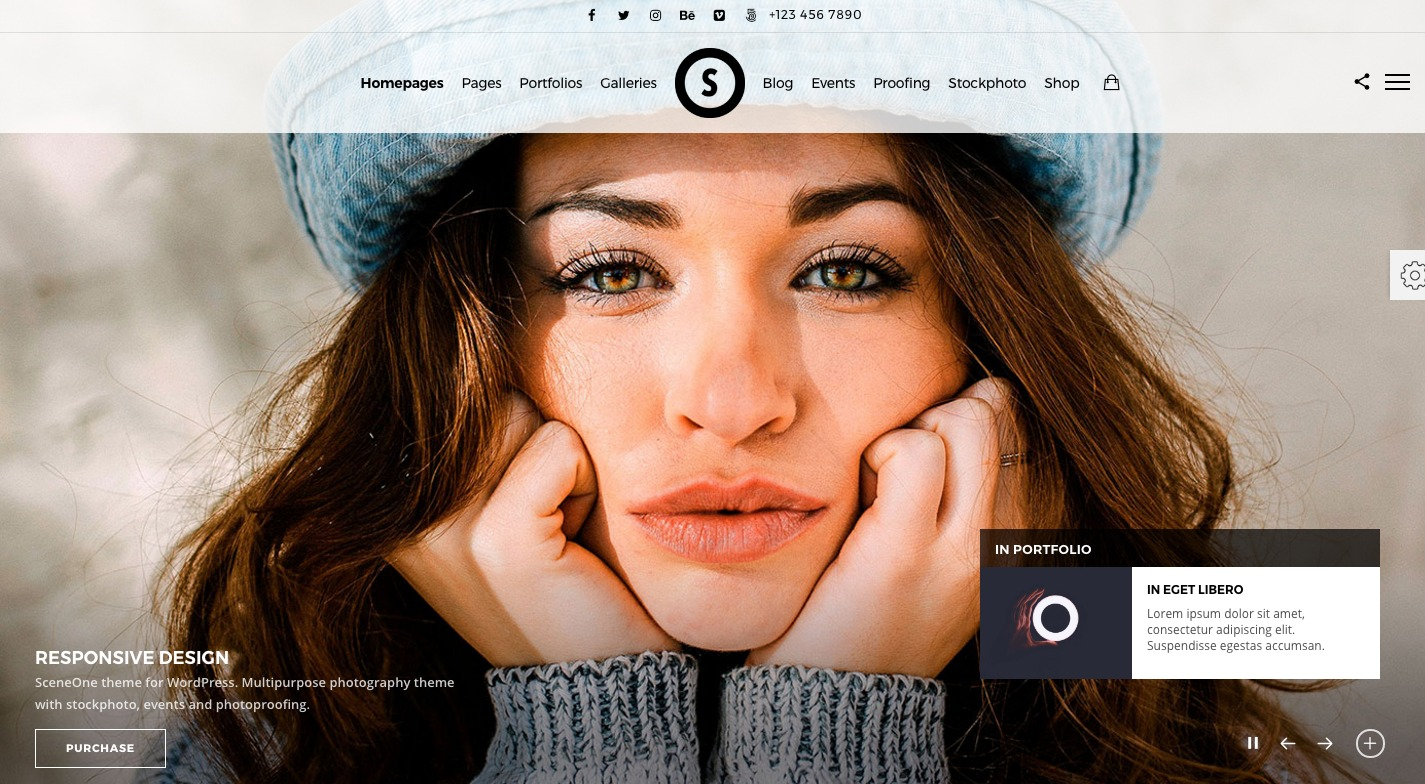 SceneOne WordPress Theme
