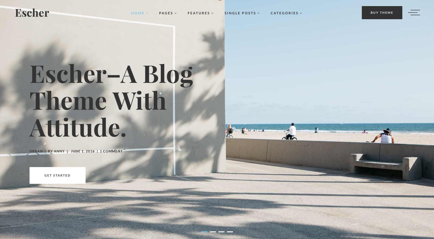 Escher WordPress Theme