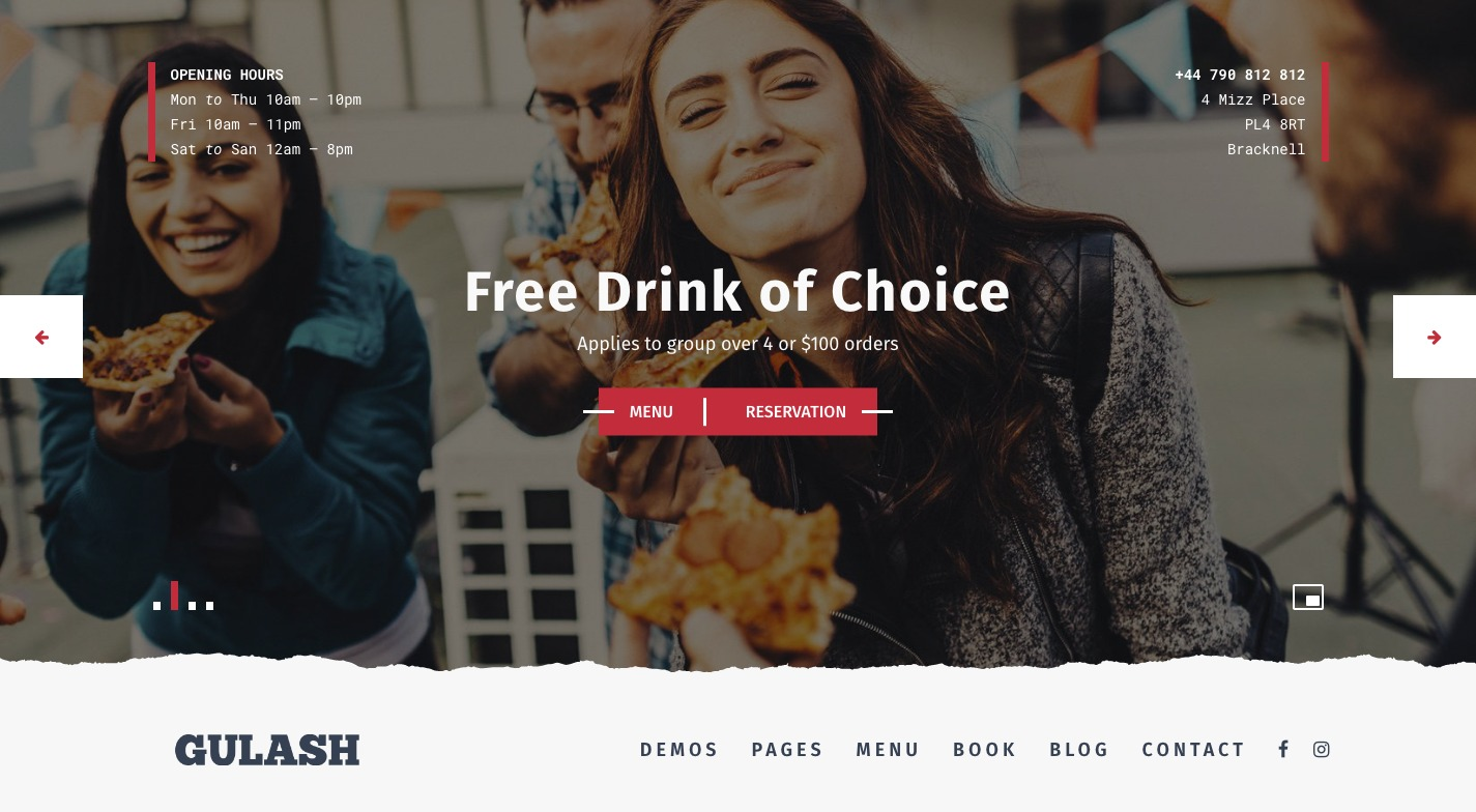 Gulash WordPress Theme