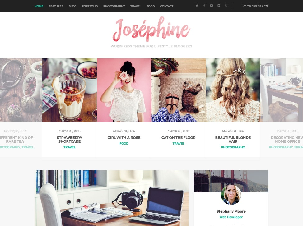 Josephine WordPress Theme