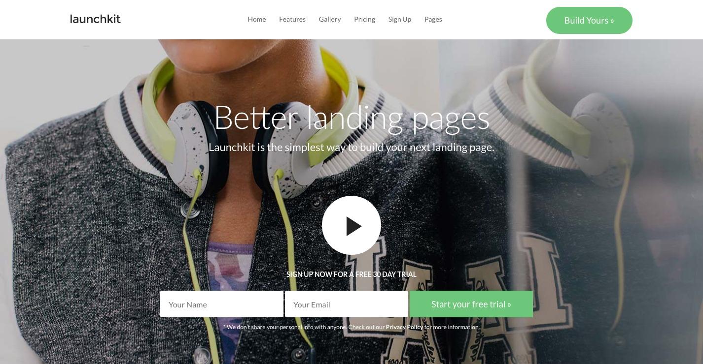 Launchkit WordPress Theme