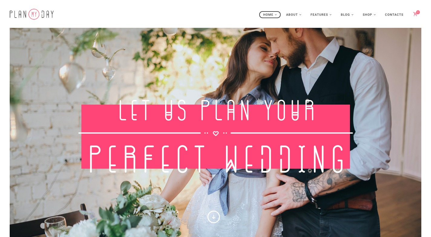 Plan My Day WordPress Theme