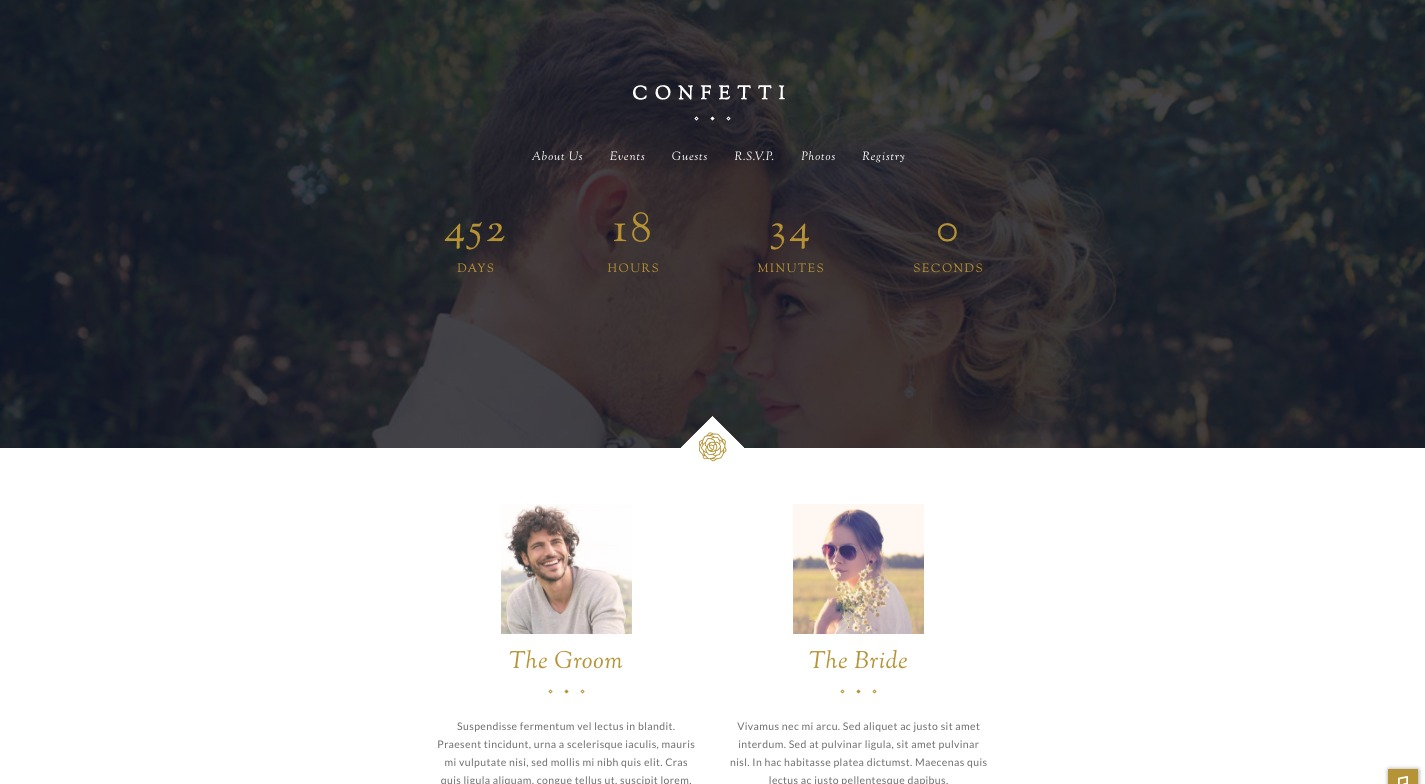 Confetti WordPress Theme