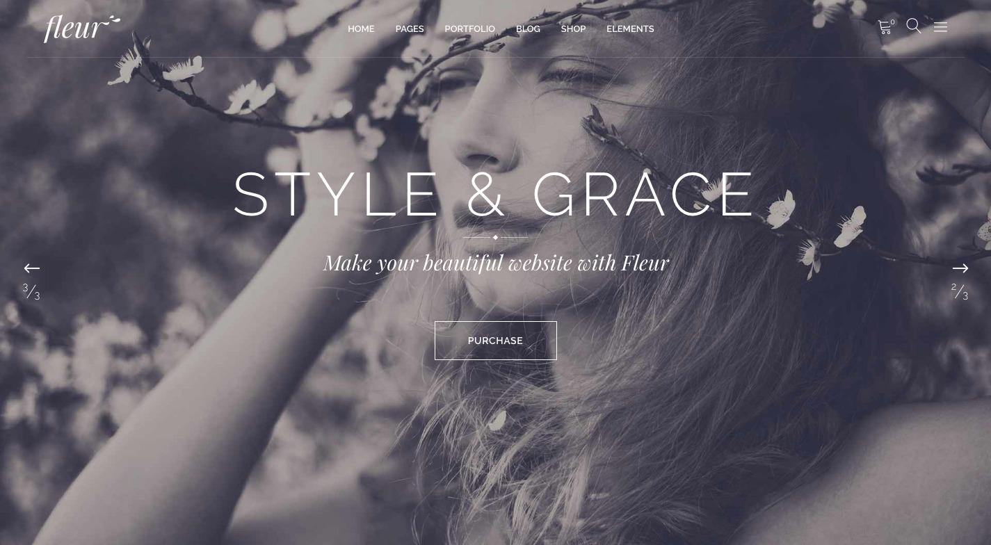 Fleur WordPress Theme