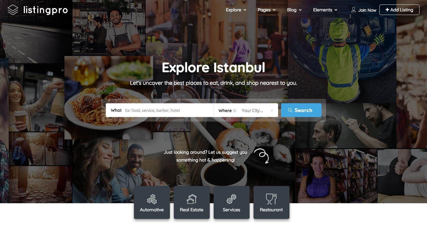 Listingpro WordPress Theme