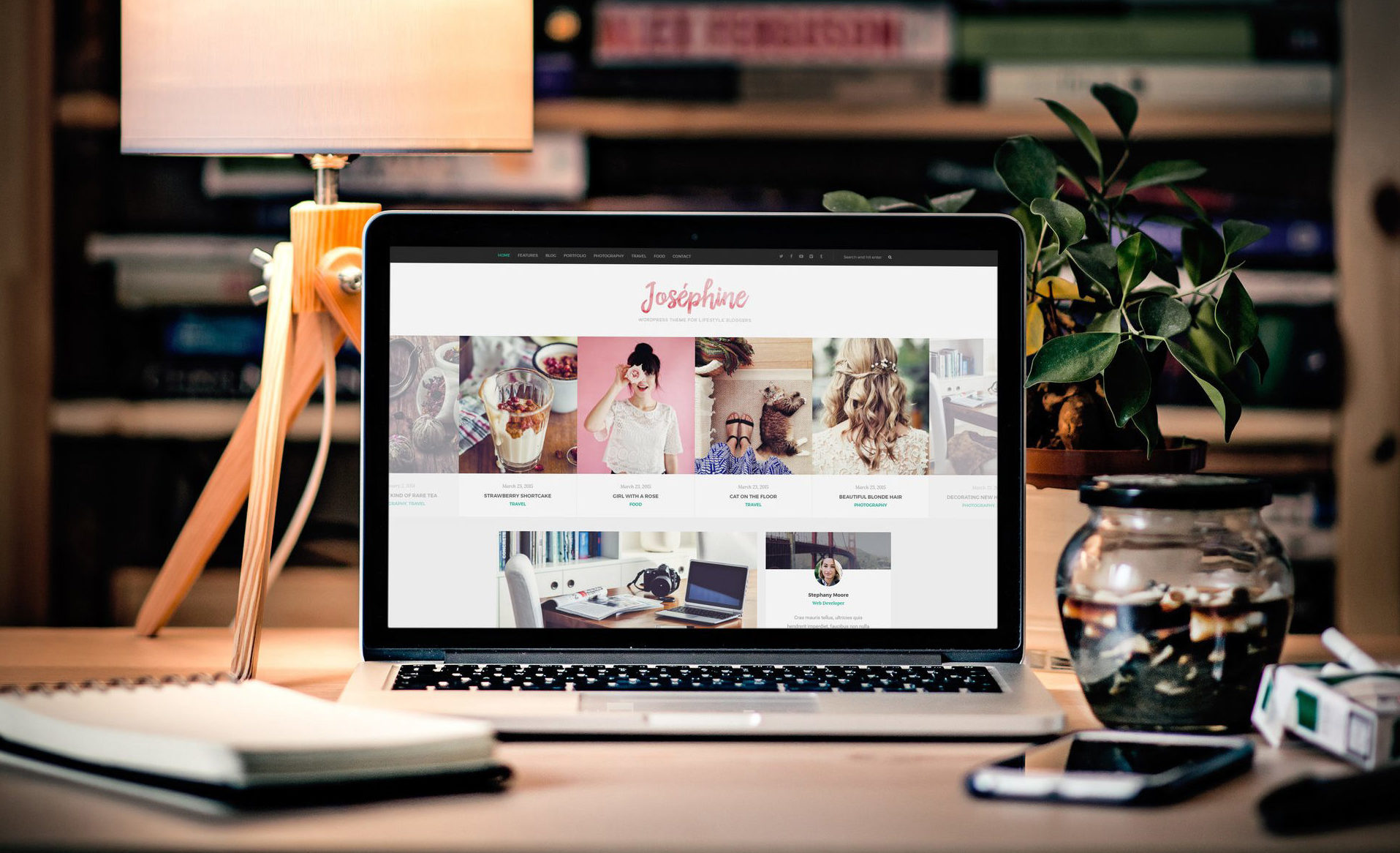 personal blog themes