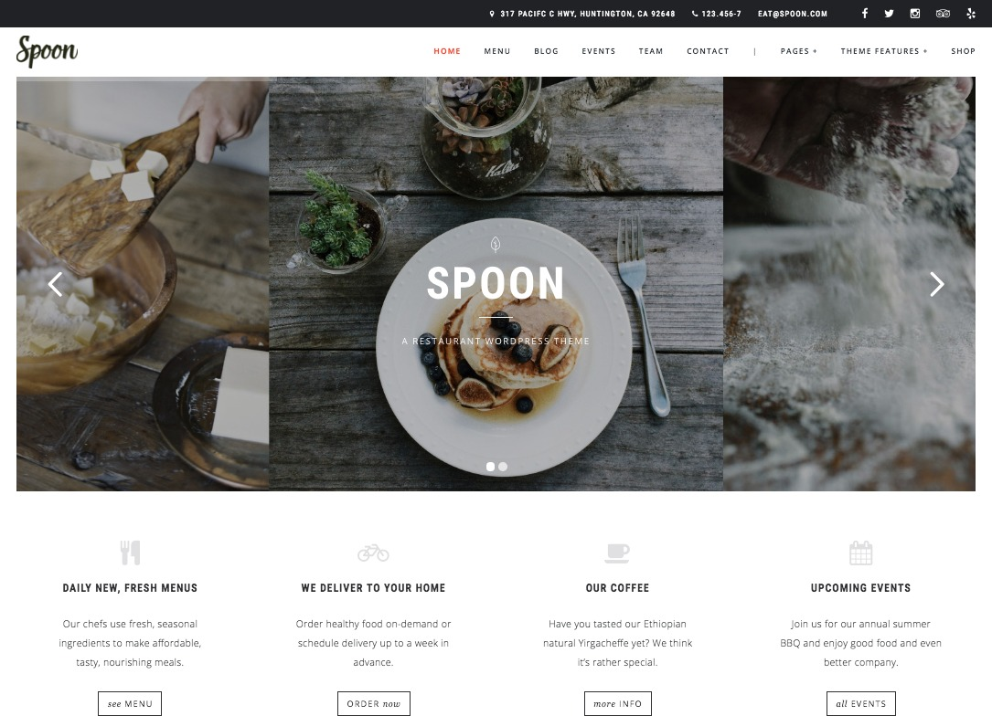 Spoon WordPress Theme