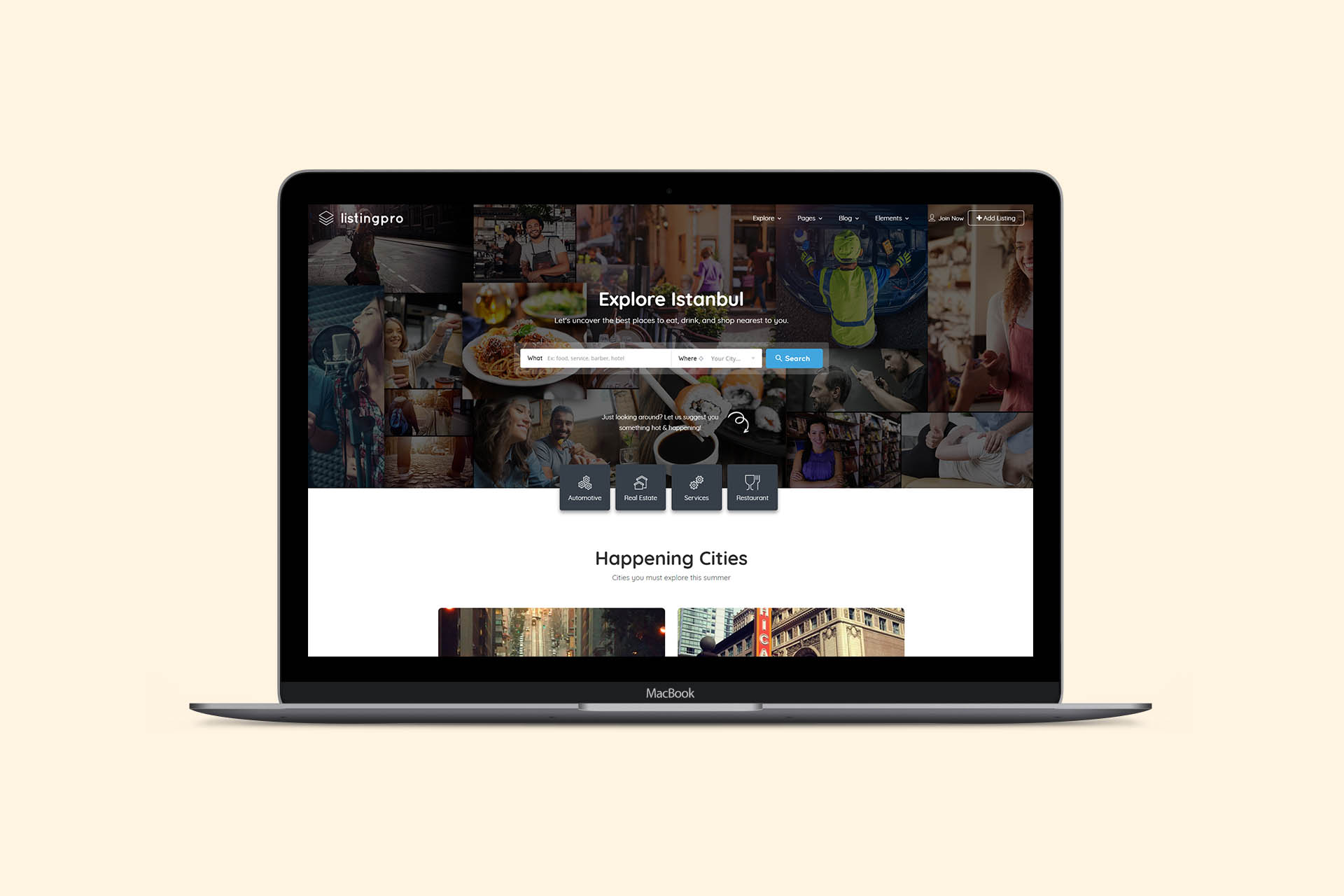 Directory Listing WordPress Themes