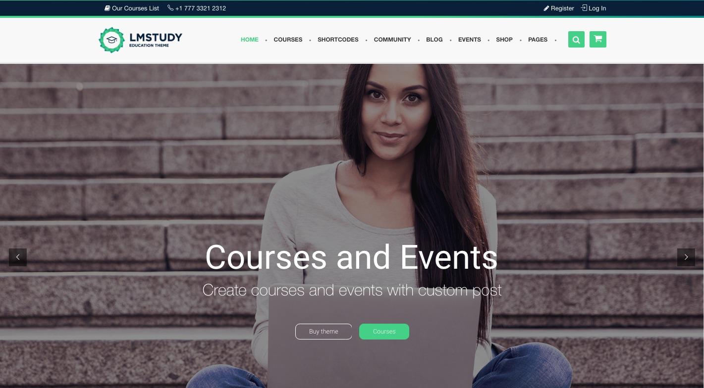 LMStudy WordPress Theme