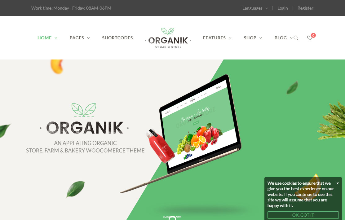 10 Best Wordpress Themes For Organic Food Farm Agriculture 2020 Wpmagg